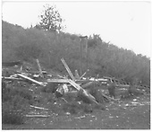 Pile of lumber (wreckage of some structure.)<br /> RGS