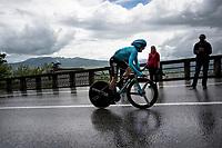 Ion Izagirre (ESP/Astana)<br /> <br /> Stage 9 (ITT): Riccione to San Marino (34.7km)<br /> 102nd Giro d'Italia 2019<br /> <br /> ©kramon