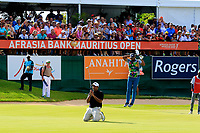 Arjun Atwal (IND) during the final round of the Afrasia Bank Mauritius Open played at Heritage Golf Club, Domaine Bel Ombre, Mauritius. 03/12/2017.<br /> Picture: Golffile | Phil Inglis<br /> <br /> <br /> All photo usage must carry mandatory copyright credit (&copy; Golffile | Phil Inglis)