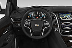 Car pictures of steering wheel view of a 2017 Cadillac Escalade Platinum 5 Door SUV Steering Wheel