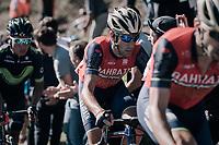 Vincenzo Nibali (ITA/Bahrain-Merida) up the infamous Muro di Sormano (avg 17%/max 25%)<br /> <br /> Il Lombardia 2017<br /> Bergamo to Como (ITA) 247km