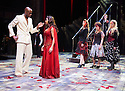 A Midsummer Night's Dream by William Shakespeare. A Royal Shakespeare Company Production directed by Erica Whyman. With Ayesha Dharker as Titania [red dress] ,Chu Omambala as Oberon. Opens at The Royal Shakespeare Theatre, Stratford Upon Avon on 24/2/16. CREDIT Geraint Lewis