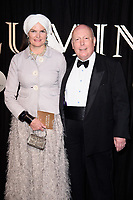 Lord Julian Fellowes &amp; Lady Fellowes arriving for the BFI Luminous Gala 2017 at the Guildhall, London, UK. <br /> 28 September  2017<br /> Picture: Steve Vas/Featureflash/SilverHub 0208 004 5359 sales@silverhubmedia.com