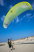Parasailing, Oxnard, California, USA