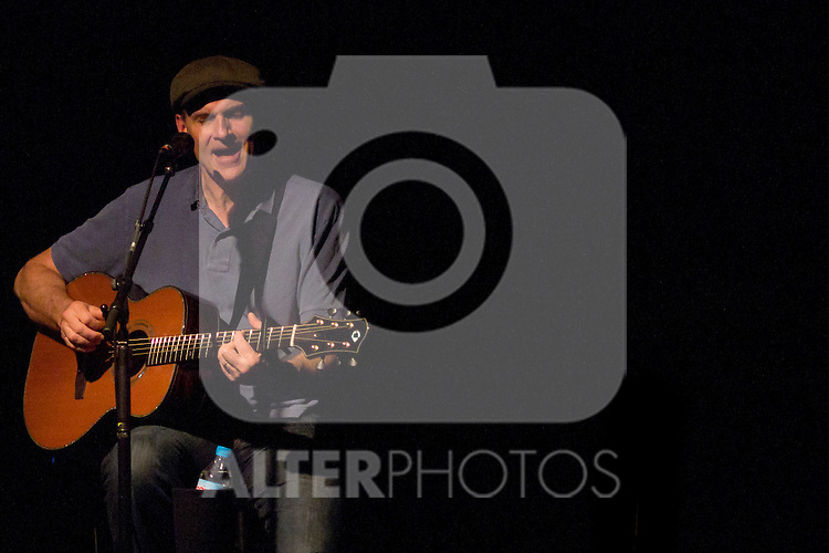"07.05.2012. Concert of the legendary singer-songwriter James Taylor in the room ""La Riviera"" in Madrid. . In the picture: James Taylor (Alterphotos/Marta Gonzalez)"