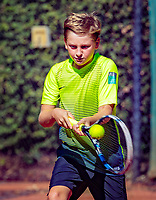 Hilversum, Netherlands, August 6, 2018, National Junior Championships, NJK,Teun Gries (NED)<br /> Photo: Tennisimages/Henk Koster
