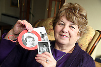 COPY BY TOM BEDFORD<br /> Pictured: Shirley Williams, holding some of the pictures of her late cousin Joan Phillips.<br /> Re: A midwife had her dying wish granted when an undertaker she delivered more than 50 years ago arranged her funeral in Haverfordwest, Pembrokeshire.<br /> Joan Phillips told undertaker Robin Folland: &quot;I brought you into the world so I want you to take me out of it.&quot;<br /> The pair joked about the unusual arrangement for years when they saw each other in the street.<br /> But when Joan passed away aged 88 Robin stepped in to give her a good send off.<br /> Robin, 54, said: &quot;Joan lived nearby and when my mum went into labour she was there to deliver me.<br /> &quot;When I started working for my dad's funeral company Joan told me I had to look after her when the time came.<br /> &quot;She used to say that she brought me into the world so I had to take her out of it.