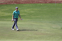 Paul Dunne (IRL) on the 13th fairway during the 2nd round of the DP World Tour Championship, Jumeirah Golf Estates, Dubai, United Arab Emirates. 16/11/2018<br /> Picture: Golffile | Fran Caffrey<br /> <br /> <br /> All photo usage must carry mandatory copyright credit (© Golffile | Fran Caffrey)