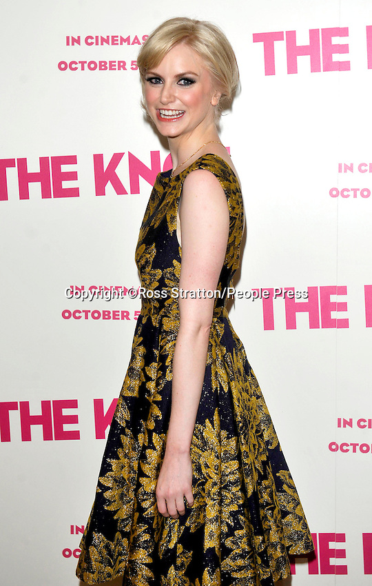 London - 'The Knot' Gala Screening at the Mayfair Hotel, London -  September 24th 2012..Photo by Ross Stratton
