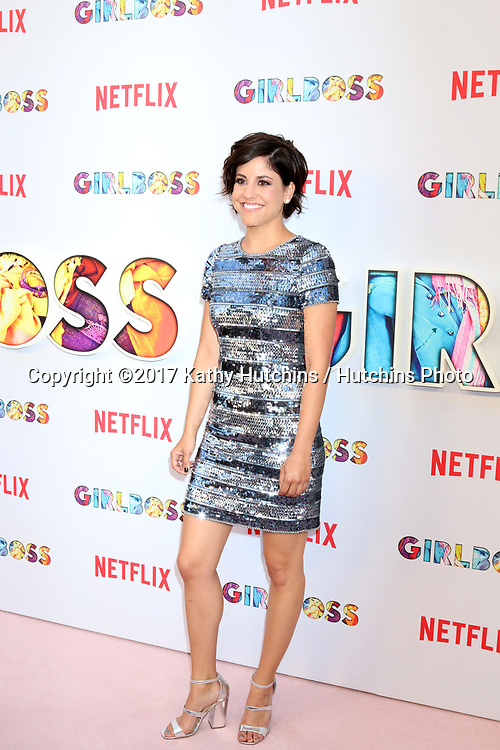 """LOS ANGELES - APR 17:  Ellie Reed at the """"Girlboss"""" Premiere Screening at ArcLight Theater on April 17, 2017 in Los Angeles, CA"""