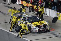 May 4, 2007; Richmond, VA, USA; Nascar Busch Series driver Kevin Harvick (77) pits during the Circuit City 250 at Richmond International Raceway. Mandatory Credit: Mark J. Rebilas