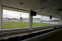 A view from the media centre ahead of Nottinghamshire CCC vs Essex CCC, Specsavers County Championship Division 1 Cricket at Trent Bridge on 12th September 2018