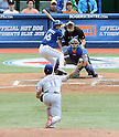 Yu Darvish (Rangers), Munenori Kawasaki (Blue Jays),<br /> JUNE 8, 2013 - MLB :<br /> Yu Darvish of the Texas Rangers pitches to Munenori Kawasaki of the Toronto Blue Jays during the Major League Baseball game at Rogers Centre in Toronto, Ontario, Canada. (Photo by AFLO)