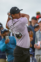 Brooks Koepka (USA) watches his tee shot on 4 during round 3 of the AT&T Byron Nelson, Trinity Forest Golf Club, Dallas, Texas, USA. 5/11/2019.<br /> Picture: Golffile | Ken Murray<br /> <br /> <br /> All photo usage must carry mandatory copyright credit (© Golffile | Ken Murray)