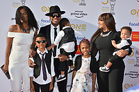 LOS ANGELES, CA. March 30, 2019: Ne-Yo, Crystal Renay & Family at the 50th NAACP Image Awards.<br /> Picture: Paul Smith/Featureflash