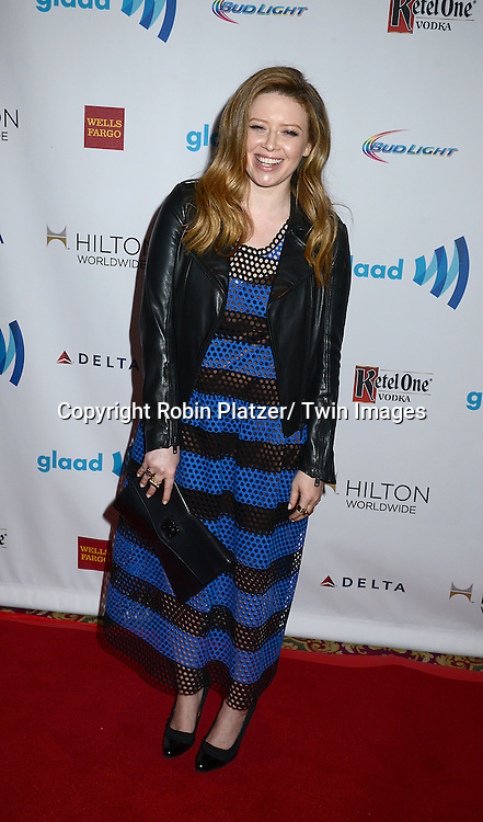 Natasha Lyonne attends the 25th Annual GLAAD Media Awards at the Waldorf Astoria Hotel in New York City, NY on May 3, 2014.