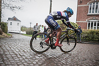 Kylie Waterreus (NED/ Maaslandster-Veris-CCN)<br /> <br /> women's race<br /> GP Le Samyn 2017