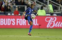 Cary, N.C. - Tuesday March 27, 2018: Darlington Nagbe during an International friendly game between the men's national teams of the United States (USA) and Paraguay (PAR) at Sahlen's Stadium at WakeMed Soccer Park.