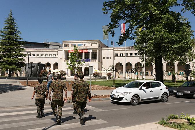 "Croatian Lodge ""Herceg Stjepan Kosaca"",  a city-sponsored public institution in Mostar, Bosnia and Herzegovina."