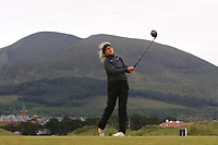 Sara Kouskova (Czech) on the 2nd tee during Round 2 of the Women's Amateur Championship at Royal County Down Golf Club in Newcastle Co. Down on Wednesday 12th June 2019.<br /> Picture:  Thos Caffrey / www.golffile.ie