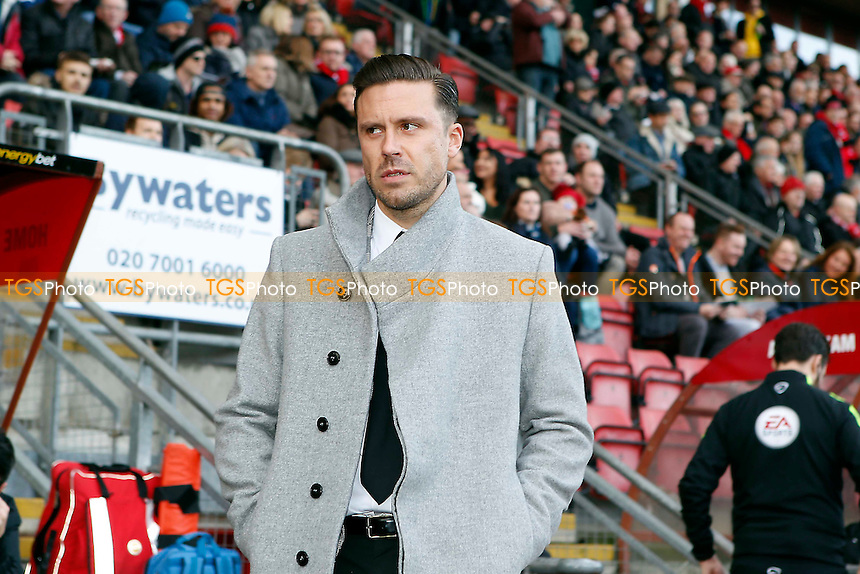 O's new manager Danny Webb during Leyton Orient vs Carlisle United, Sky Bet EFL League 2 Football at the Matchroom Stadium on 4th February 2017