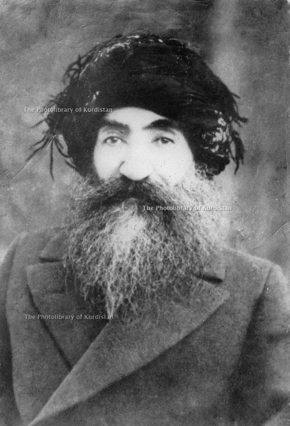 Turkey 1930?.Seyid Riza, Kurdish leader.Turquie 1930?.Seyid Riza, chef kurde