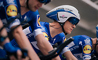 prerace focus by Niki Terpstra (NED/Quick-Step Floors)<br /> <br /> UCI MEN'S TEAM TIME TRIAL<br /> Ötztal to Innsbruck: 62.8 km<br /> <br /> UCI 2018 Road World Championships<br /> Innsbruck - Tirol / Austria
