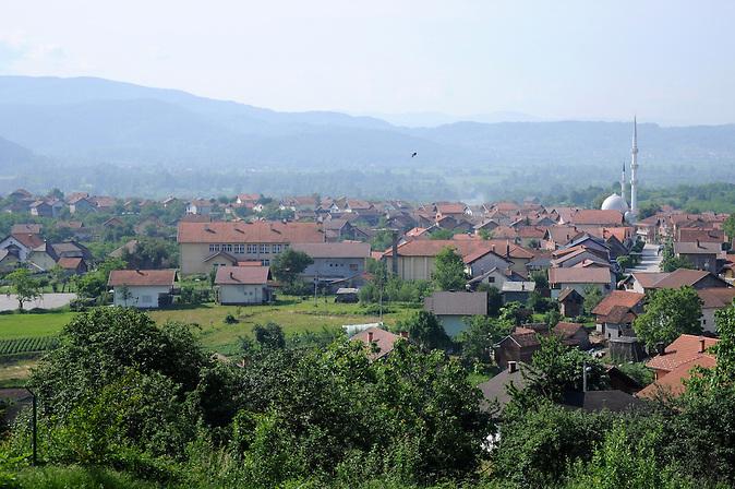 Kotorsko  im Norden von Bosnien Herzegowina in der autonomen Republik Srbska. / Kotorsko in northern Bosnia and Herzegovina in the autonomous Republic of Srpska.