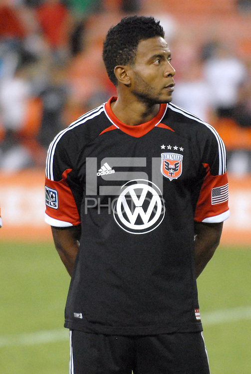 D.C. United Lionard Pajoy (26) The New York Red Bulls tied D.C. United 2-2 at RFK Stadium, Wednesday August 29, 2012.