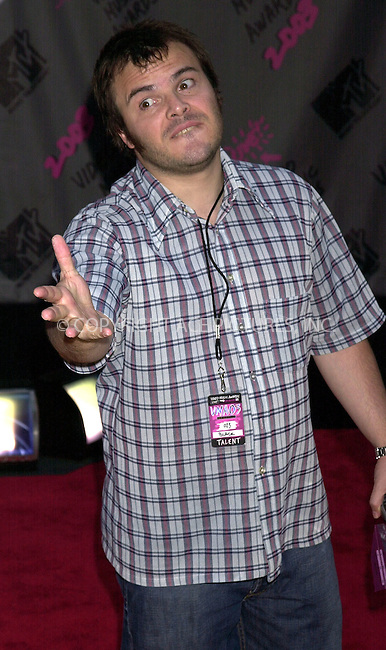 Jack Black at 2003 Video Music Awards. New York, August 28, 2003. Please byline: NY Photo Press.   ..*PAY-PER-USE*      ....NY Photo Press:  ..phone (646) 267-6913;   ..e-mail: info@nyphotopress.com
