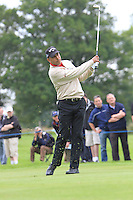 Jeev Milkha Singh (IND) plays his 2nd shot on the 13th hole during Day 1 Thursday of The Irish Open presented by Discover Ireland at Killarney Golf & Fishing Club on 28th July 2011 (Photo Jenny Matthews/www.golffile.ie)