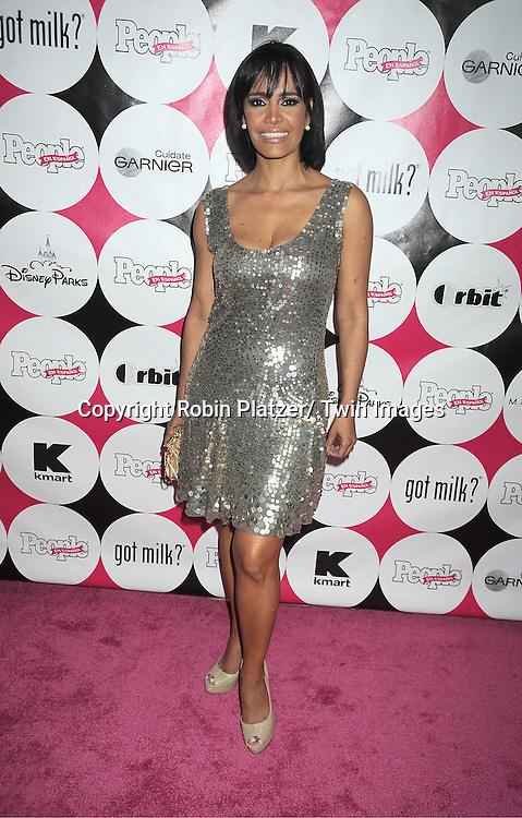 """Birmania Rios attending at The 15th Annual People En Espanols """" 50 Most Beautiful"""" event at Guastavino's in New York City on May 19, 2011."""
