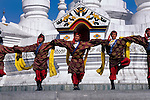 CHINA, BEIJING, CHINESE ETHNIC CULTURE PARK, TIBETAN DANCES