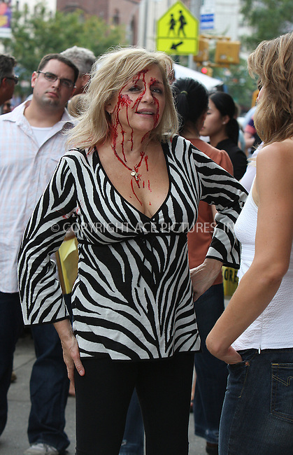 WWW.ACEPIXS.COM . . . . .  ....September 24 2009, New York City....Actresses Patti D'Arbanville and Callie Thorne on the set of the TV show 'Rescue Me' on September 24 2009 in New York City....Please byline: AJ Sokalner - ACEPIXS.COM..... *** ***..Ace Pictures, Inc:  ..tel: (212) 243 8787..e-mail: info@acepixs.com..web: http://www.acepixs.com