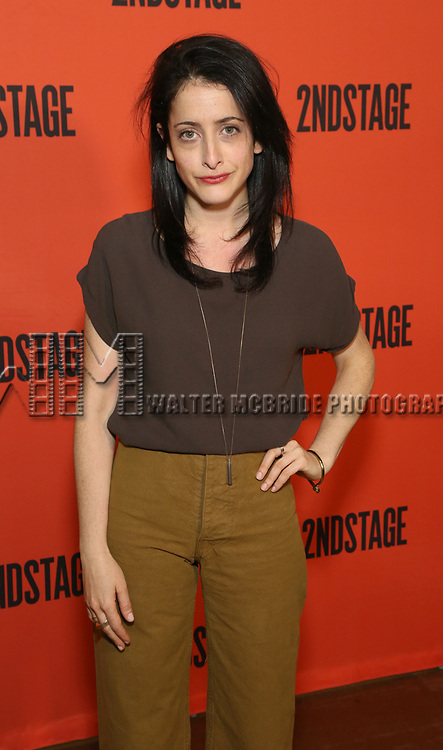 Lila Neugebauer  during the photo call for the Second Stage production of 'Mary Page Marlowe' on June 12, 2018 in New York City.