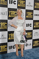 UK actress Helen Mirren arrives at the 25th Independent Spirit Awards held at the Nokia Theater in Los Angeles on March 5, 2010. The Independent Spirit Awards is a celebration honoring films made by filmmakers who embody independence and originality..Photo by Nina Prommer/Milestone Photo