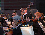 A photograph from the Reno Phil performing in the Pops on the River fundraiser at Wingfield Park in Reno on  Saturday, July 9, 2016.
