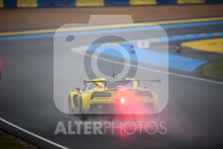 #63 CORVETTE RACING GM (USA) CHEVROLET CORVETTE C7R LMGTE PRO JAN MAGNUSSEN (DNK) ANTONIO GARCIA (SPA) RICKY TAYLOR (USA)