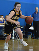 Julia Wilkinson #11 of Wantagh dribbles downcourt during a non-league girls basketball game against West Babylon at Robert Moses Middle School in North Babylon on Saturday, Dec. 22, 2018. She scored 12 points in Wantagh's 49-30 win.