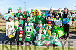 Hollymount NS  went green at the Rathmore parade on Sunday