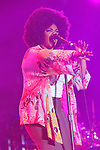 MIAMI GARDENS, FL - MARCH 17: Jill Scott performs during the 7th Annual Jazz In The Gardens at Sunlife Stadium on March 17, 2012 in Miami Gardens, Florida. (Photo by Johnny Louis/jlnphotography.com)