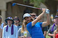 Tommy Fleetwood (ENG) watches his tee shot on 1 during round 3 of The Players Championship, TPC Sawgrass, at Ponte Vedra, Florida, USA. 5/12/2018.<br /> Picture: Golffile | Ken Murray<br /> <br /> <br /> All photo usage must carry mandatory copyright credit (&copy; Golffile | Ken Murray)