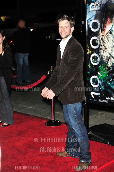 "Christian Oliver at the premiere of ""10,000 BC"" at the Grauman's Chinese Theatre, Hollywood..March 5, 2008  Los Angeles, CA.Picture: Paul Smith / Featureflash"