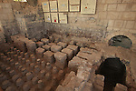 Israel, Beth Shean valley. The western bathhouse of Scythopolis