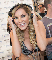 LAS VEGAS, NV - May 10 : Crystal Hefner pictured as Joanna Krupa and Marta Krupa celebrate their birthdays at REHAB Pool Party at Hard Rock Hotel & Casino in Las Vegas, NV on May 10, 2014. © Kabik/ Starlitepics ***HOUSE COVERAGE***