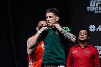 GOIÂNIA, GO, 29.05.2015 – UFC-GOIÂNIA – Norman Parke durante pesagem para o UFC Goiânia  no Goiânia Arena em Goiânia na tarde desta sexta-feira, 29. (Foto: Ricardo Botelho / Brazil Photo Press)