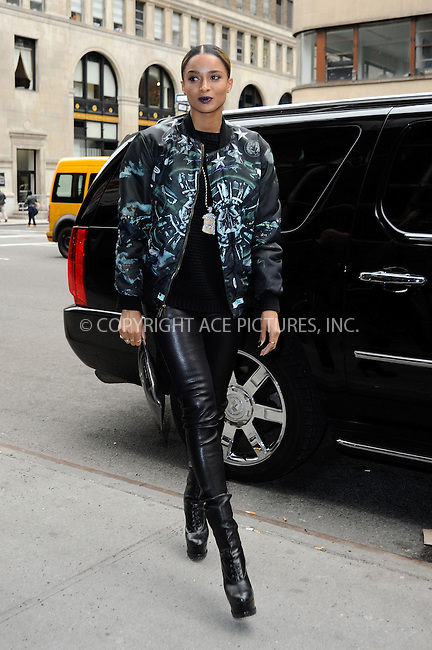 WWW.ACEPIXS.COM....March 21 2013, New York City....Musician Ciara arives at a downtown hotel on March 21 2013 in New York City........By Line: Curtis Means/ACE Pictures......ACE Pictures, Inc...tel: 646 769 0430..Email: info@acepixs.com..www.acepixs.com