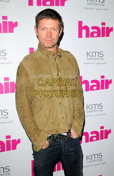 GUEST.At the Hair Magazine Awards, Haymarket Hotel, Suffolk Place, London, England, September 23rd 2008..half length green shirt khaki .CAP/CAN.©Can Nguyen/Capital Pictures
