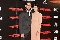 "Juan Diego Botto and Paz Vega attends ""La Ignorancia de la Sangre"" Premiere at Capitol Cinema in Madrid, Spain. November 13, 2014. (ALTERPHOTOS/Carlos Dafonte) /NortePhoto nortephoto@gmail.com"