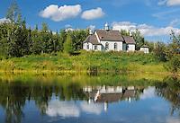 St. Nicholas Ukrainian Greek Catholic Church in the Ukrainian Cultural Heritage Village<br /> Vegreville<br /> Alberta<br /> Canada
